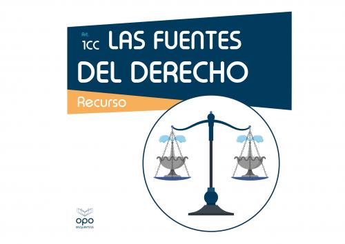 Esquemas - Las Fuentes del Derecho (art. 1 Código Civil)