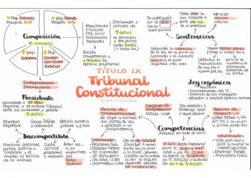 La Constitución Española en esquemas